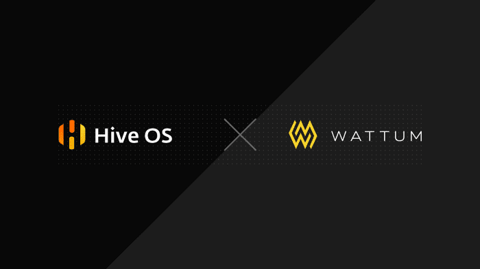 Wattum x Hive OS: the new partnership