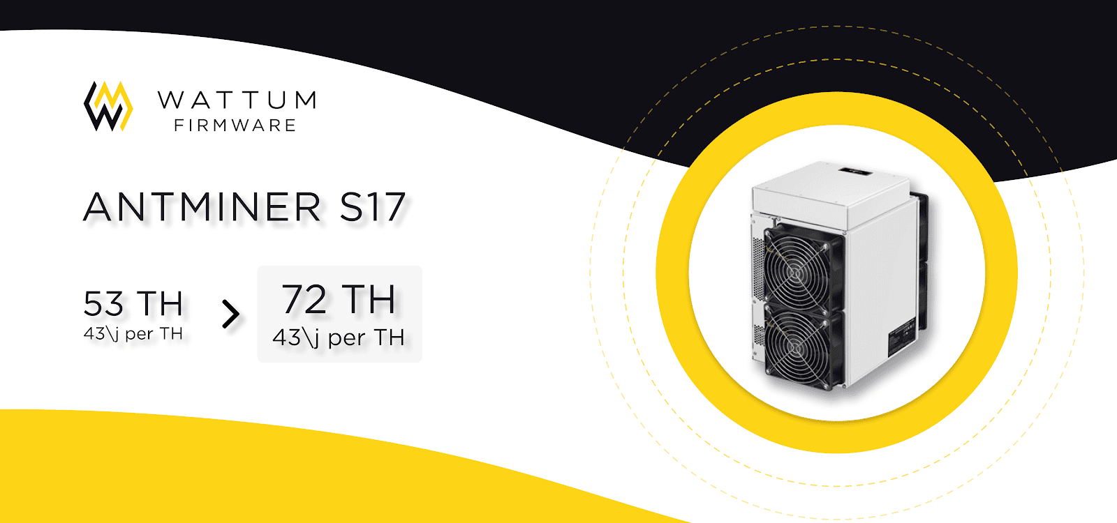 WATTUM Firmware for Antminer S17/S17pro