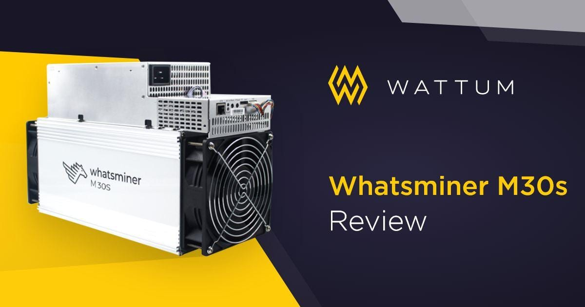 MicroBT Whatsminer M30s Review