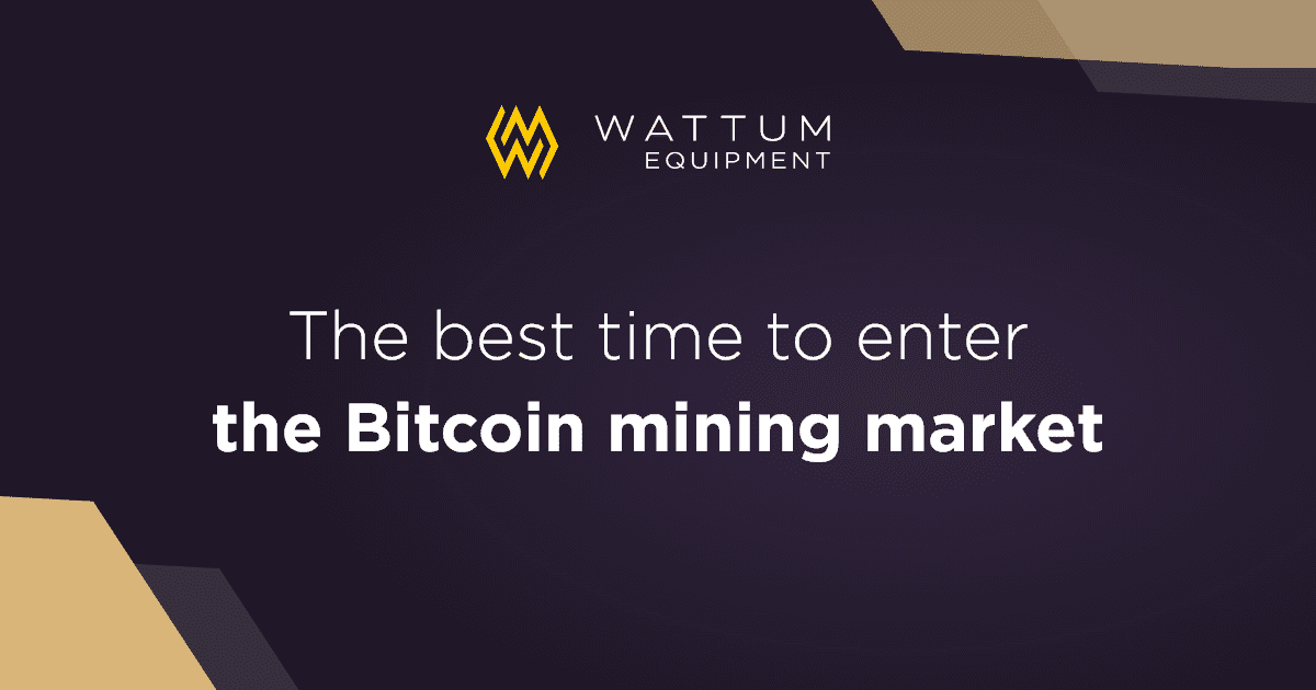 Don't Wait! Now may be the Best Time to Enter the Bitcoin Mining Market