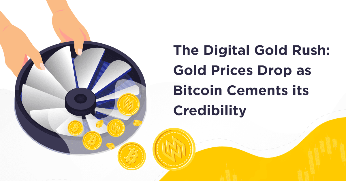The Digital Gold Rush: Gold Prices Drop as Bitcoin Cements its Credibility